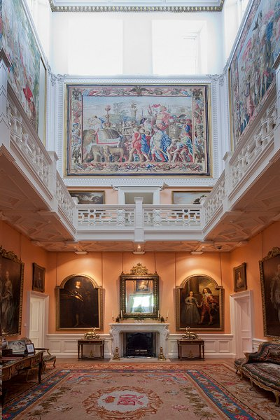scottish country house depicts the history of stately homes with