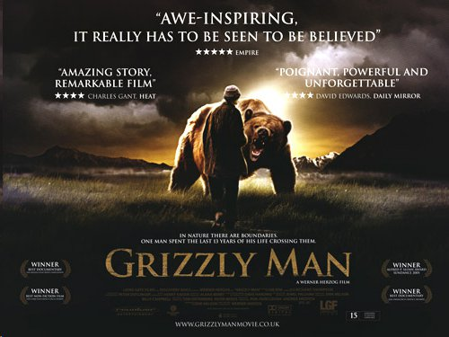 grizzly man film report This is my first a review for the site so i should define what makes an a movie in my book the two main things that have to be in the mix for me to real.